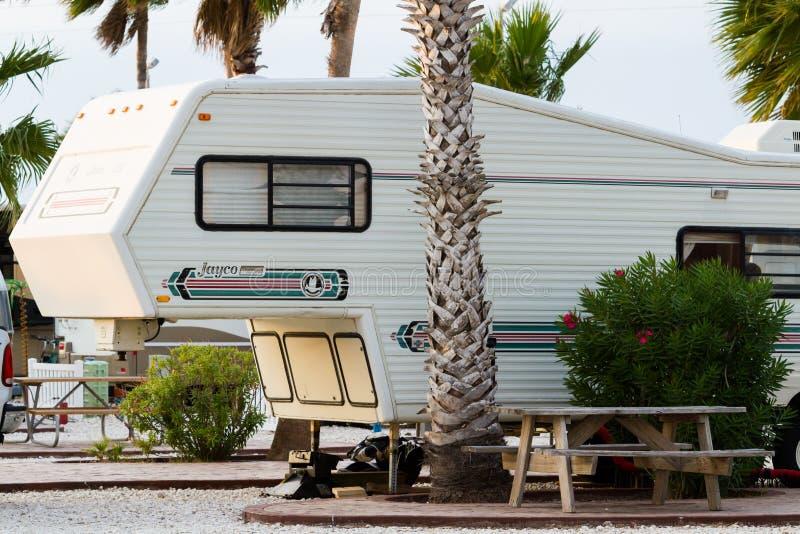 Место для лагеря RV стоковые фото