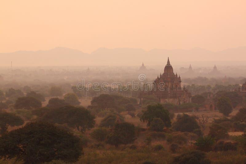 Место Bagan Мьянмы Bagan историческое стоковая фотография