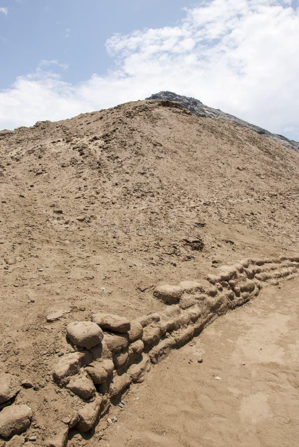 Место Chan Chan археологическое в Trujillo - Salaverry Перу стоковое изображение rf