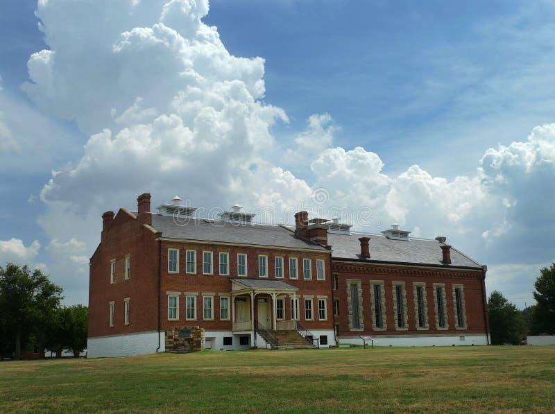 Место Fort Smith национальное историческое стоковое изображение rf