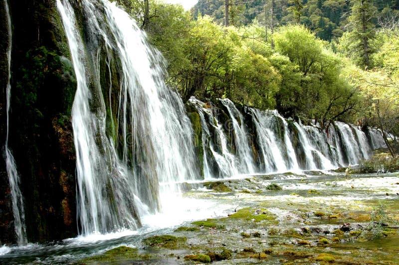 место jiuzhaigou 7 стоковые изображения rf