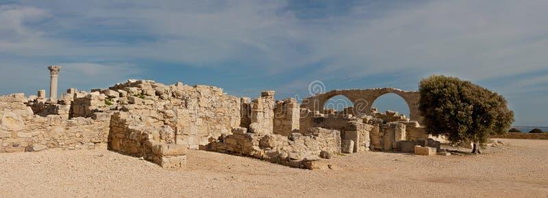 место kourion Кипра стоковая фотография