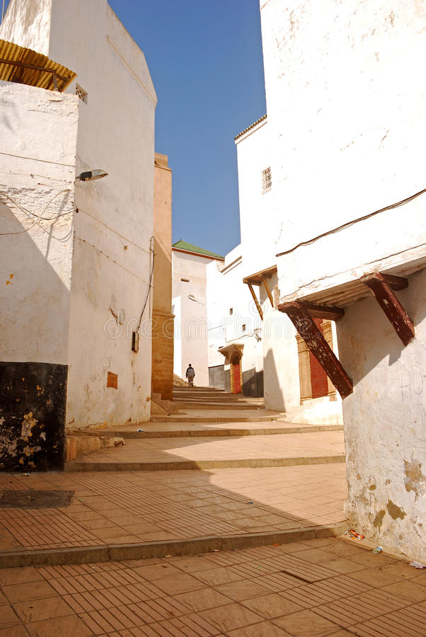 Место Medina, Рабат, Марокко стоковые изображения rf