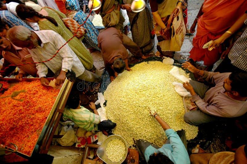 место mysore рынка стоковое изображение rf