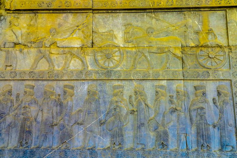 Место 13 Persepolis историческое стоковая фотография