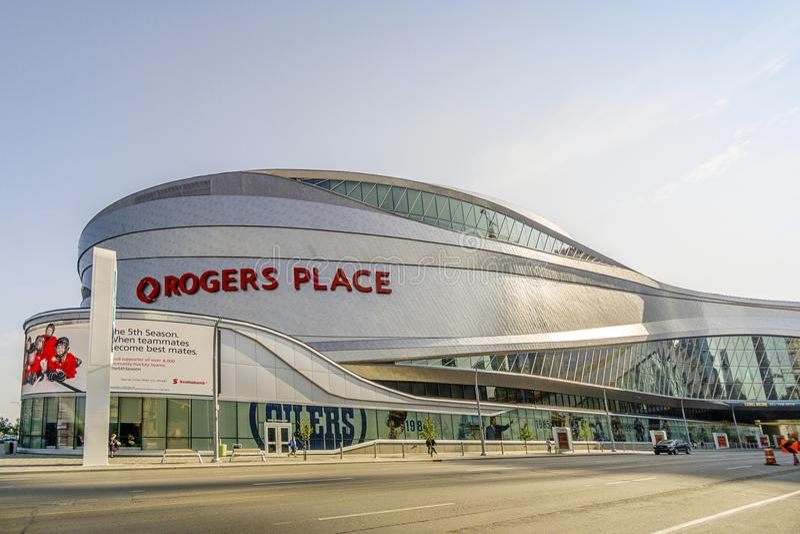 Место Rogers в Альберте, Канаде стоковые изображения