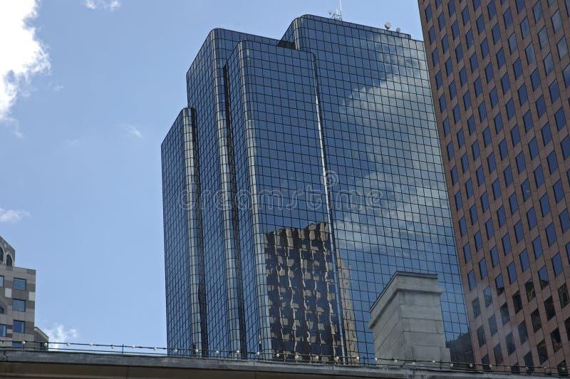 место skyline3 обменом boston стоковые изображения
