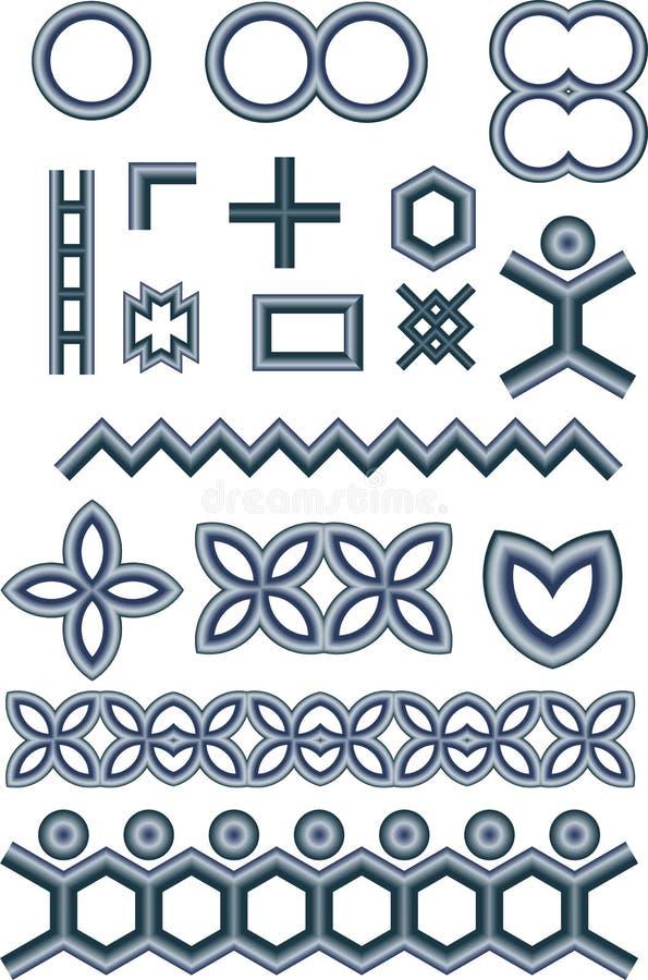 металлические формы бесплатная иллюстрация