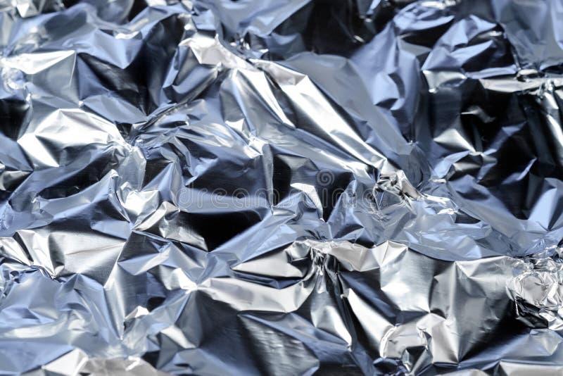 Металлический серебр сини предпосылки стоковые фото