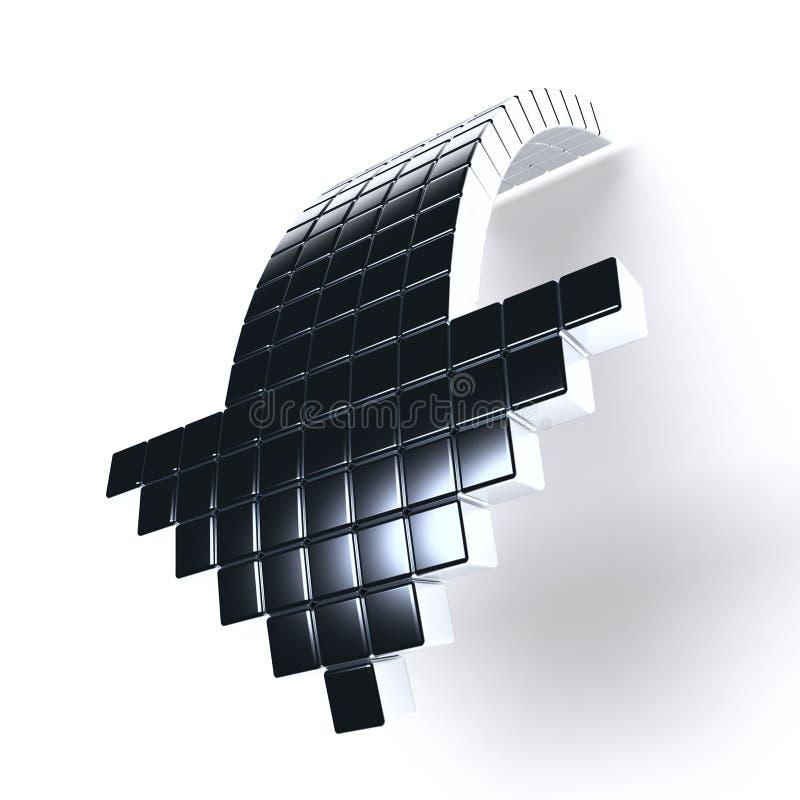 металлическое стрелки темное бесплатная иллюстрация