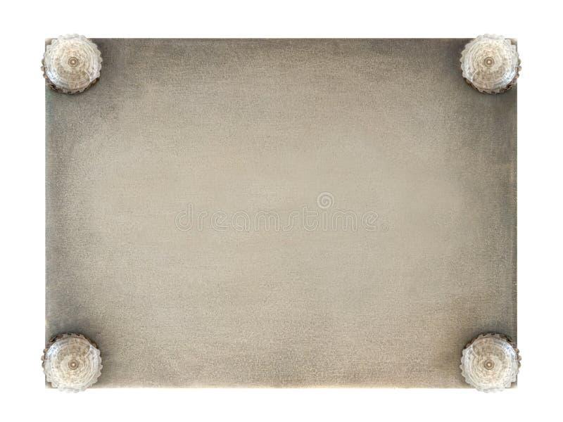 металлопластинчатое ретро стоковые фото