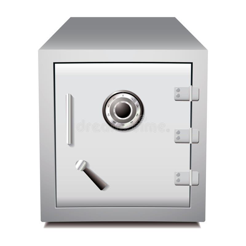 металл безопасный обеспечивает иллюстрация вектора