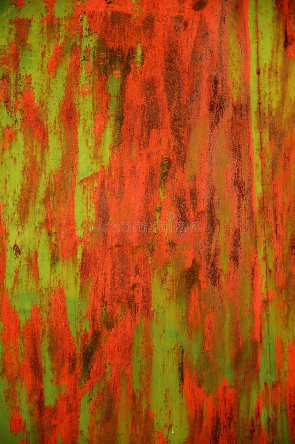 металл двери ржавый стоковая фотография