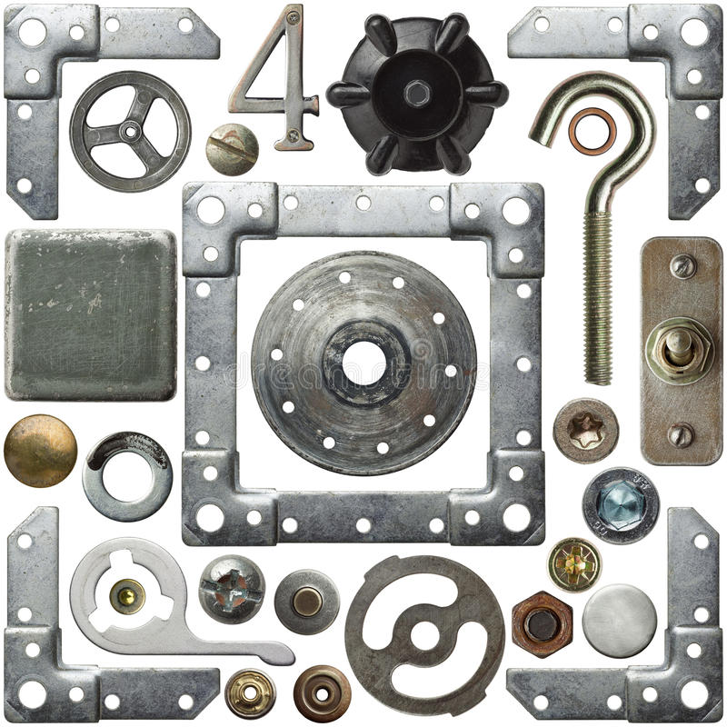 металл деталей стоковое изображение rf