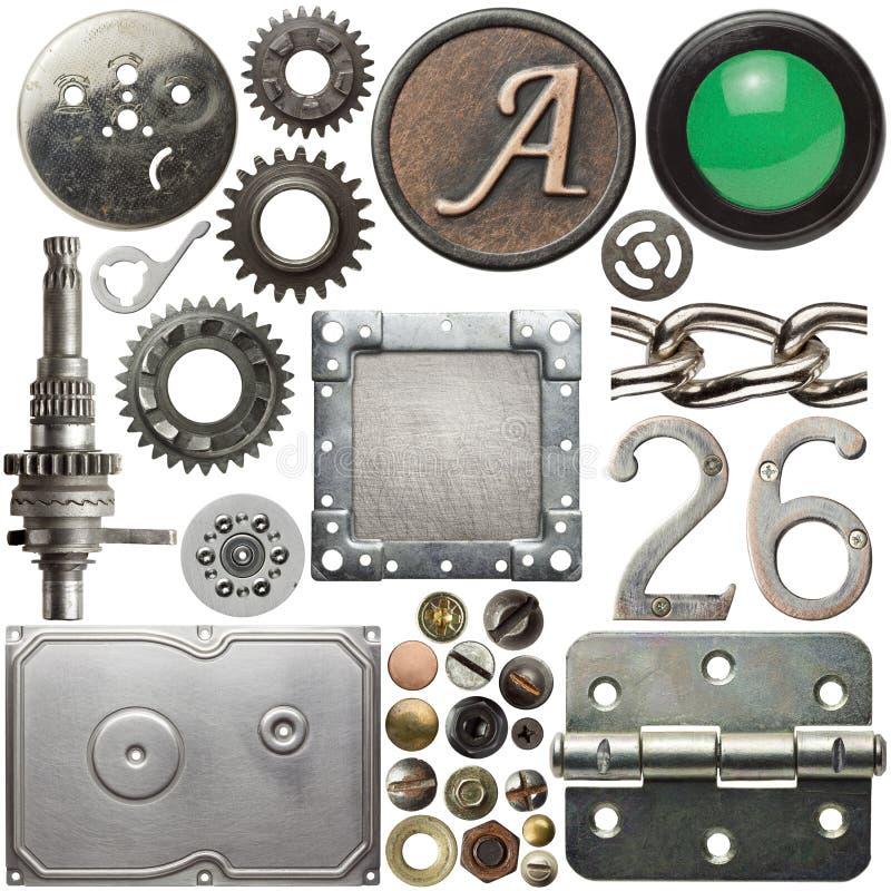 металл деталей стоковые изображения