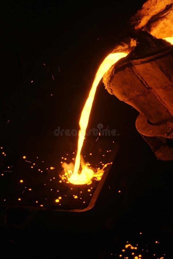 металл отливки стоковая фотография rf