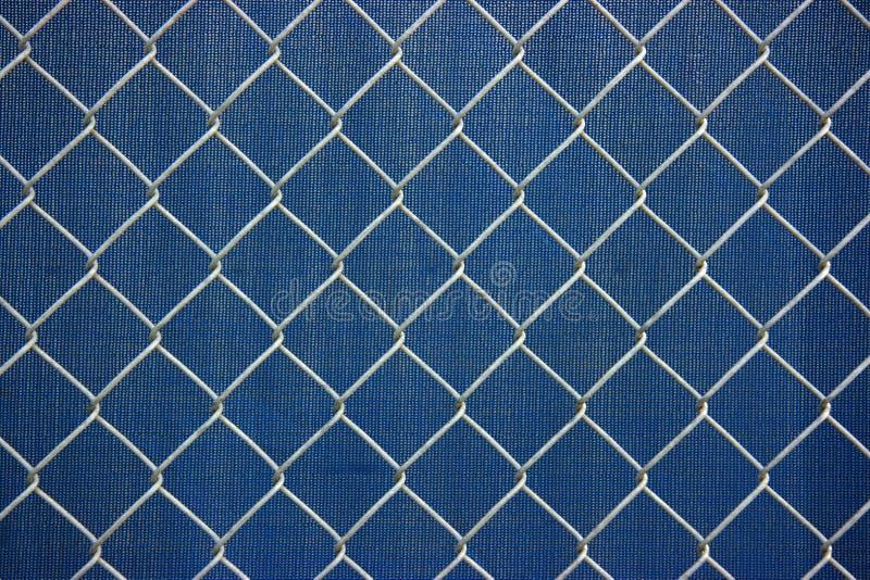 металл решетки chainlink стоковые изображения