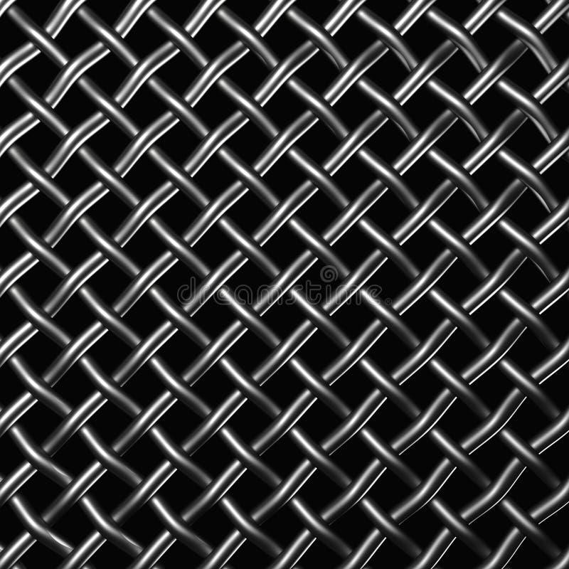 металл сетки иллюстрация штока