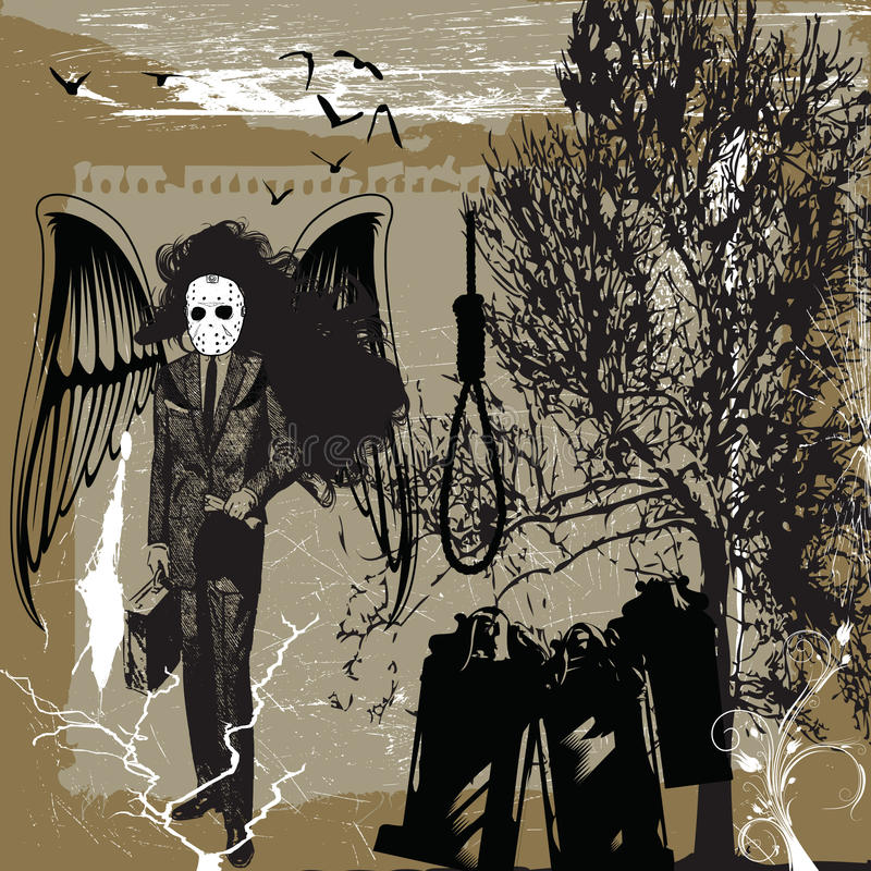 металл смерти бесплатная иллюстрация