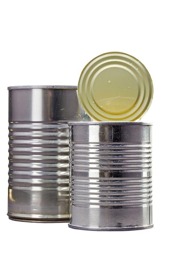металл чонсервных банк стоковое фото rf