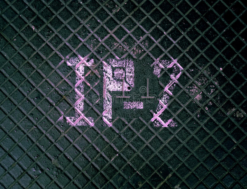 металл grunge пола стоковая фотография