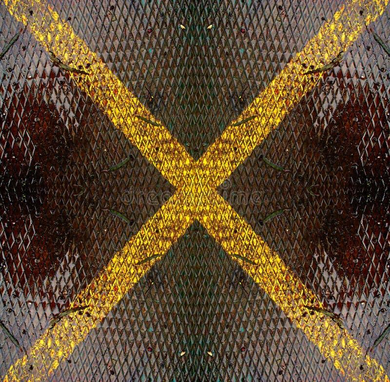 металл x стоковое изображение