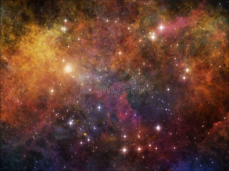 Download Метафоричный космос иллюстрация штока. иллюстрации насчитывающей темно - 40589322