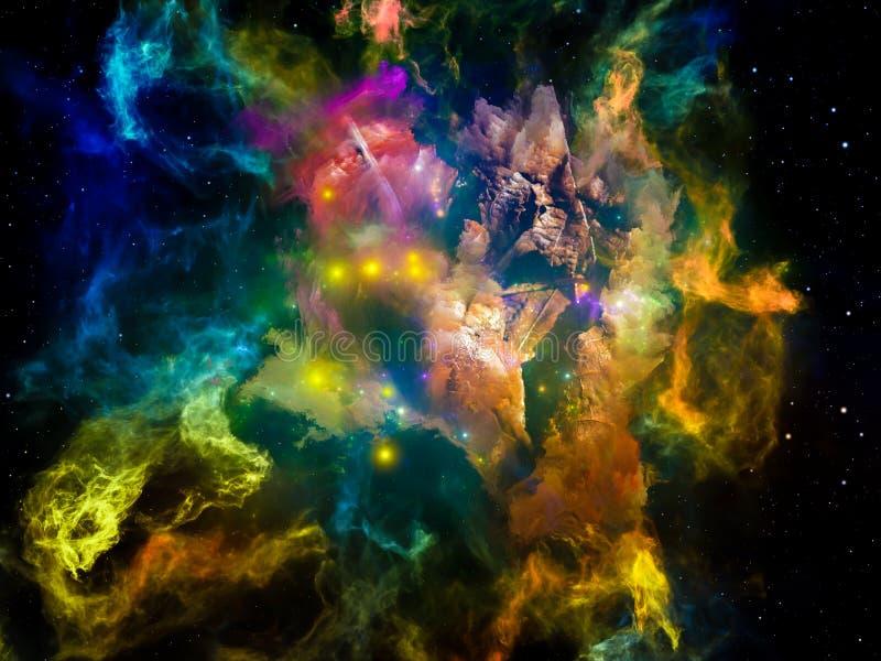 Метафоричный мечт космос стоковая фотография