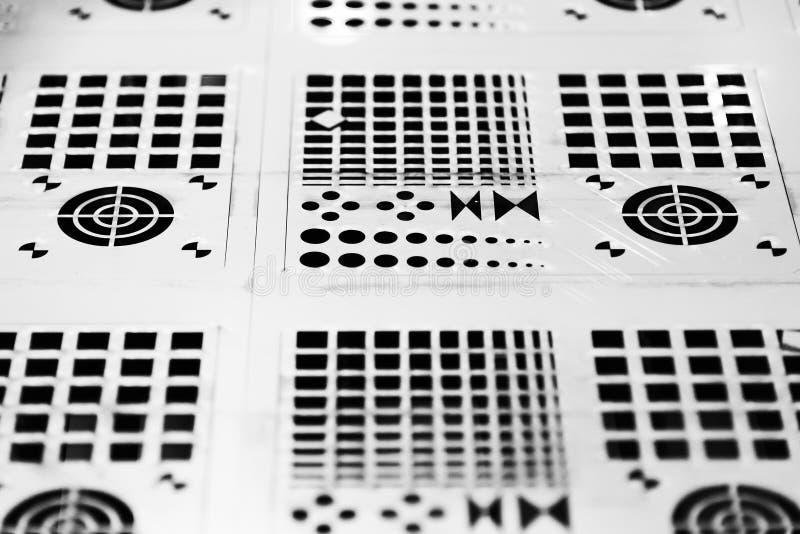 Металлическая пластина листа стоковая фотография