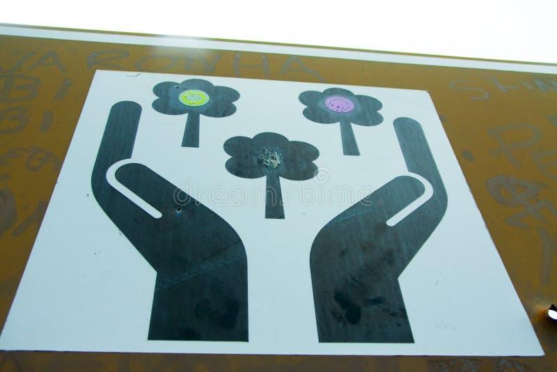 Металлическая пластинка для хорошего стоковые фотографии rf