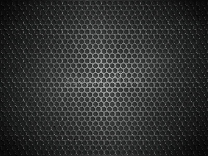 металлопластинчатая текстура отражения иллюстрация вектора