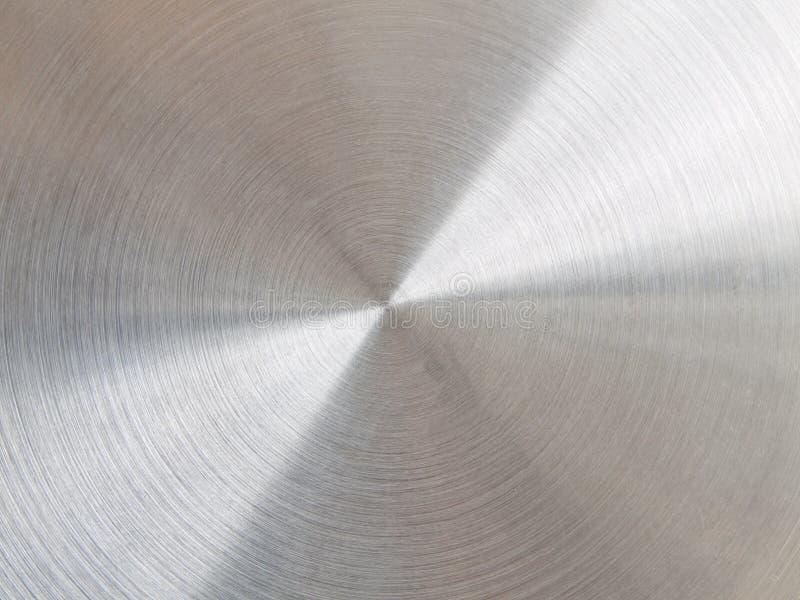 Металл почищенный щеткой циркуляром стоковые изображения