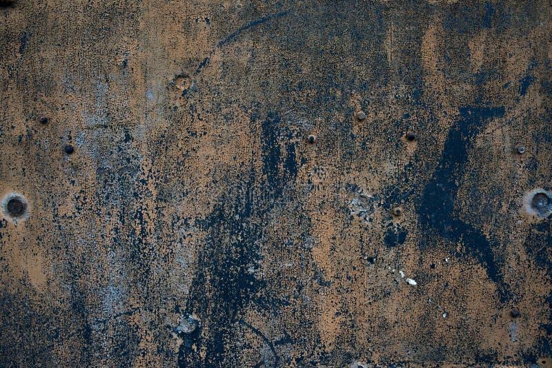 Металл старого grunge грубый oxidazed железный поверхностный стоковые фотографии rf
