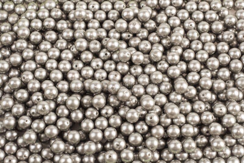 Металл любит пластичная предпосылка шариков и текстурирует стоковое изображение