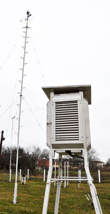 Метеорологическая спортивная площадка Chortkiv Weather_8 стоковое фото rf