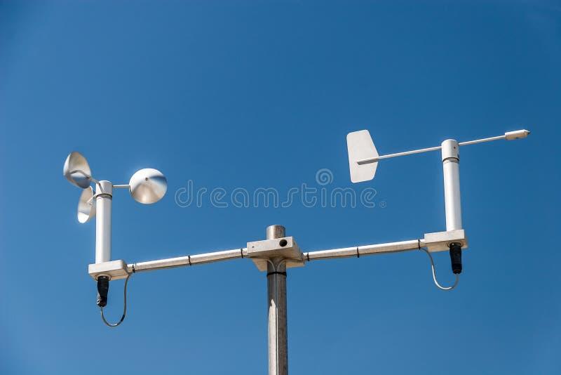 Метеорологическая станция стоковая фотография rf