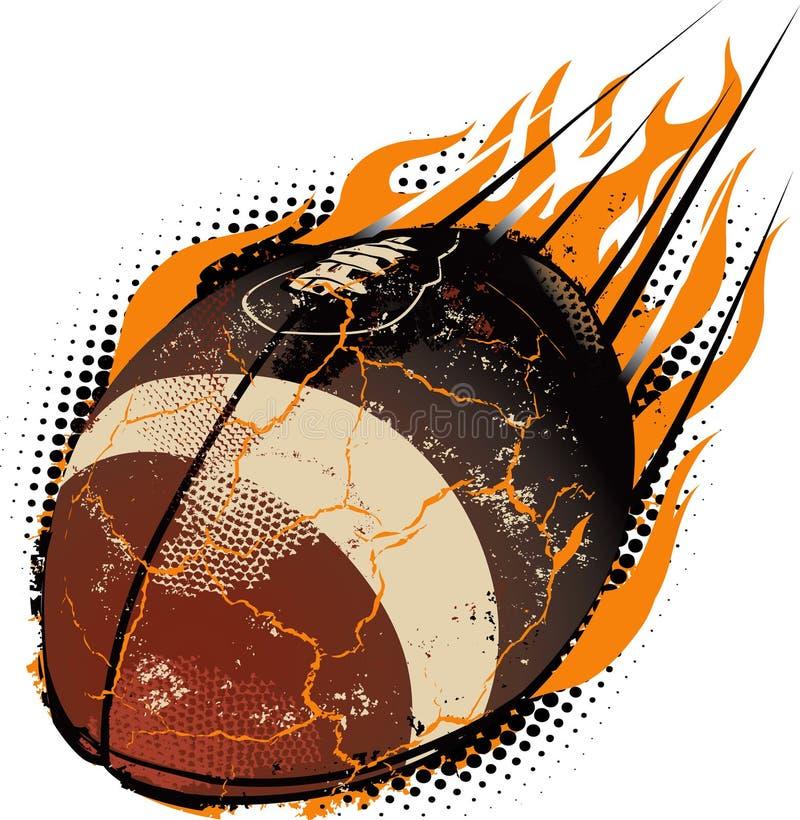 метеор футбола иллюстрация штока