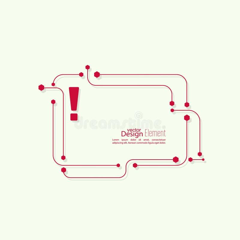 метка иконы возгласа 3d представляет иллюстрация штока