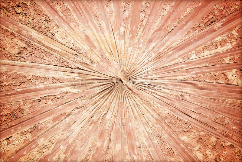 метки лист на бетоне стоковые фотографии rf