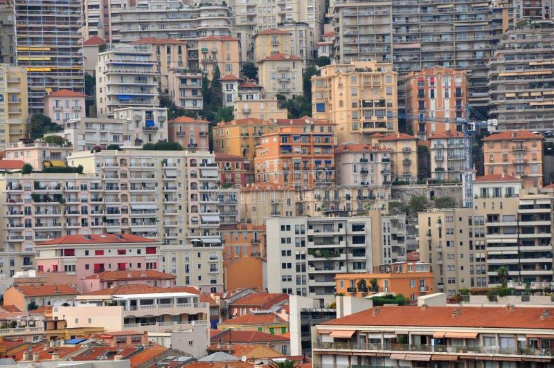 Метрополия - дома Монте-Карло стоковое фото