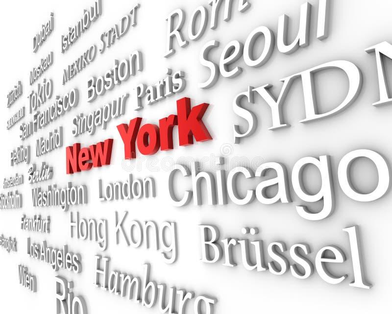 метрополия New York бесплатная иллюстрация