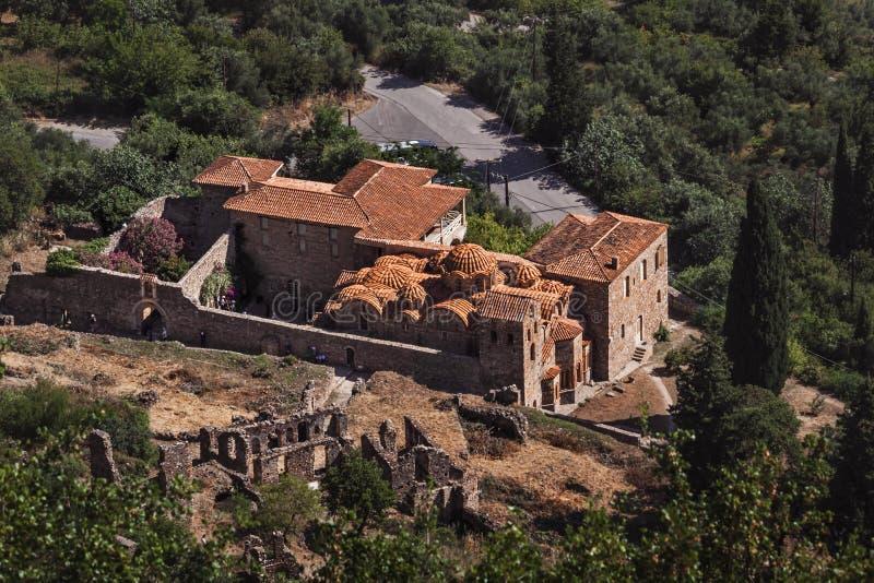 Метрополия St Demetrius - Греции Mystras стоковое фото rf