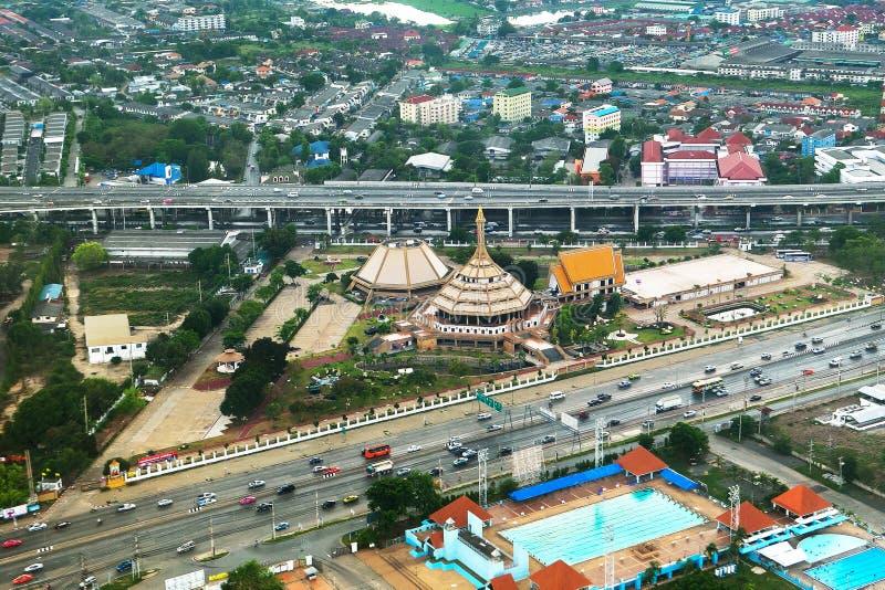 Метрополия Бангкока стоковое фото rf