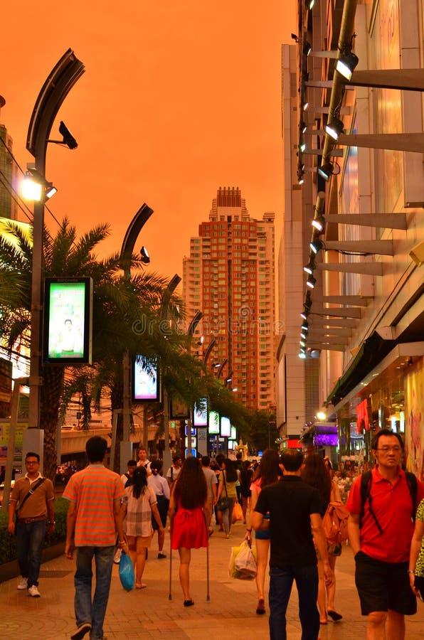Метрополия Бангкока стоковые изображения rf