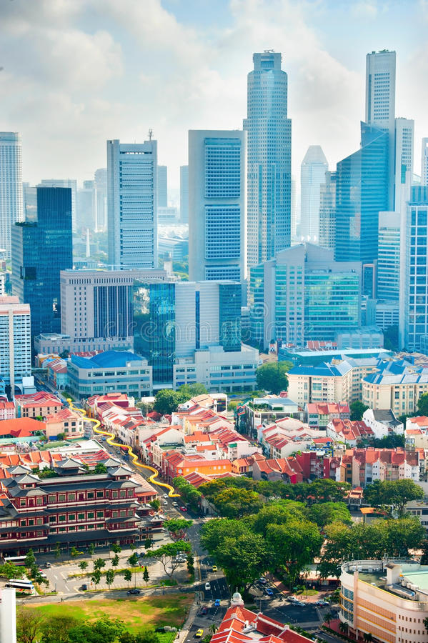 Метрополия Сингапура стоковая фотография