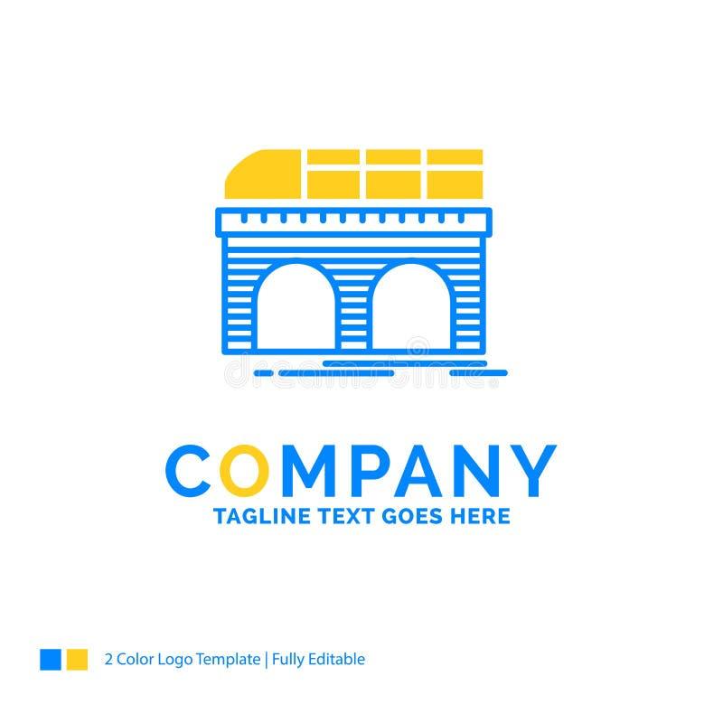 метро, железная дорога, железная дорога, поезд, дело перехода голубое желтое бесплатная иллюстрация