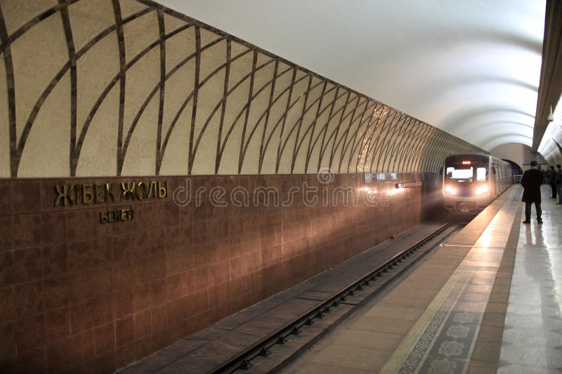 метро прибытия стоковая фотография rf