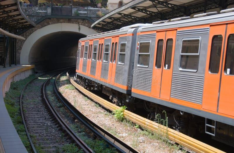 метро athens стоковые изображения