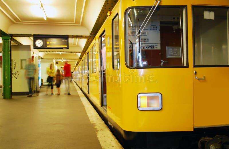 метро berlin стоковые фото