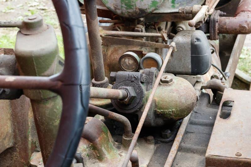 Механизмы трактора стоковое изображение rf